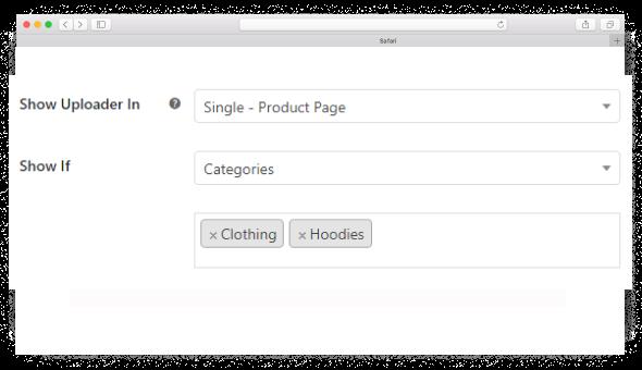 Drag & Drop Multiple File Upload - Show Uploader